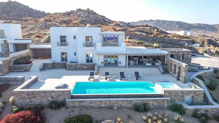 Ethereal Mykonian Villa on Mykonos