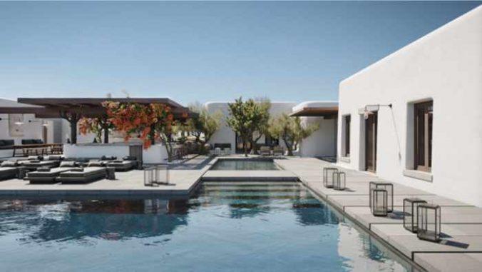 Kalesma hotel on Mykonos