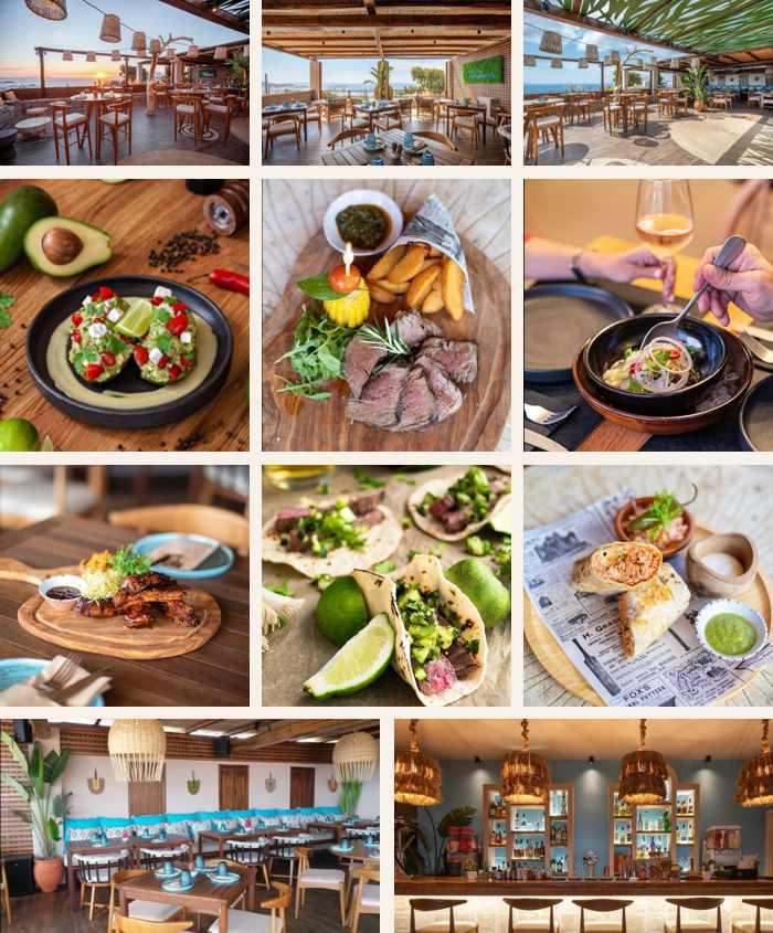 Azul Condesa modern Mexican restaurant in Mykonos