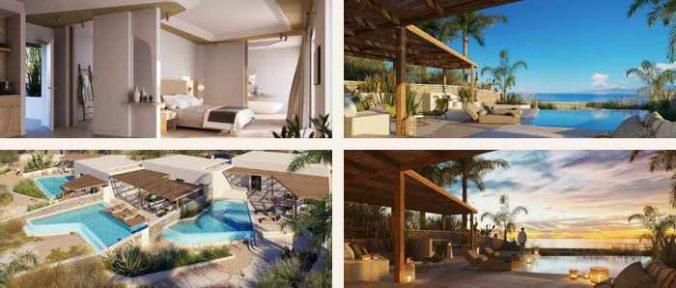 Photos of the villas at Bill & Coo Hotel on Mykonos