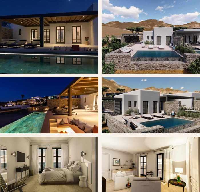 Images of Bonzoe Homes & Villas on Mykonos