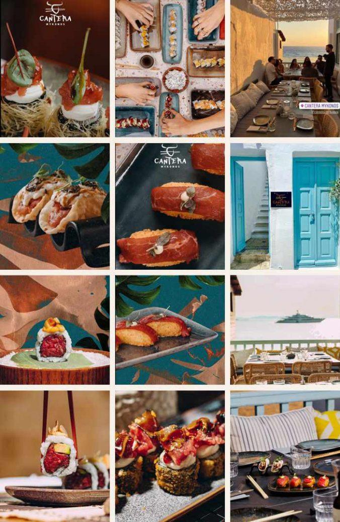 Cantera restaurant on Mykonos