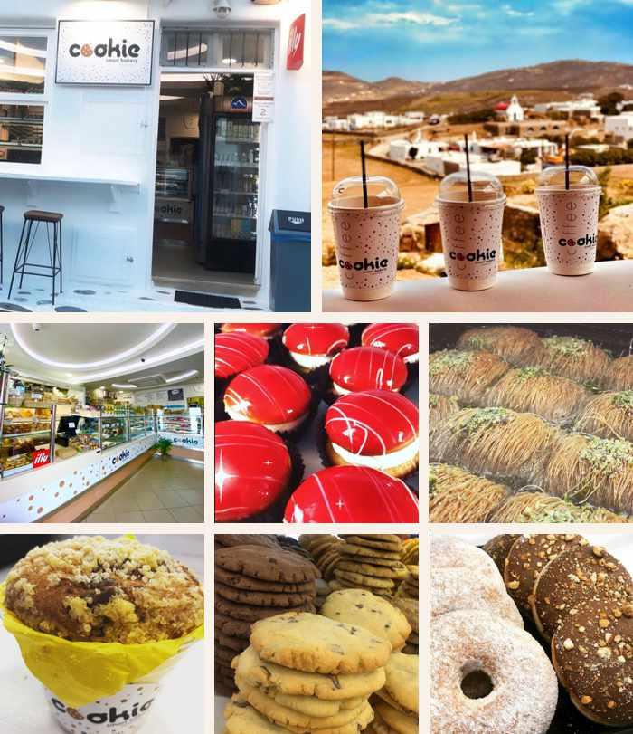 Cookie Smart Bakery on Mykonos