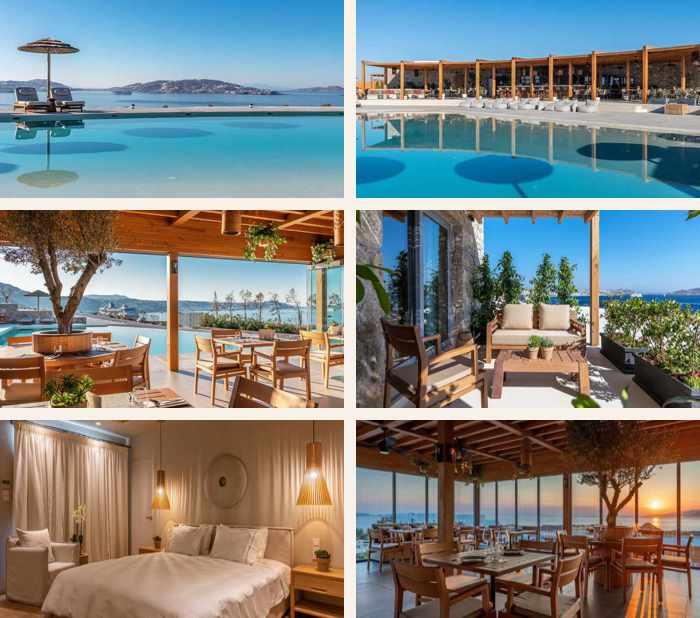 Photos of Destino Pacha hotel on Mykonos
