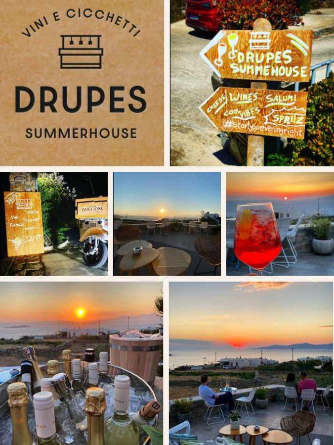 Drupes Summerhouse on Mykkonos