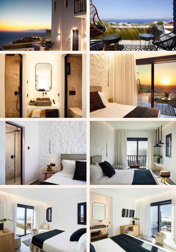 Photos of Epic Mykonos luxury suites on Mykonos