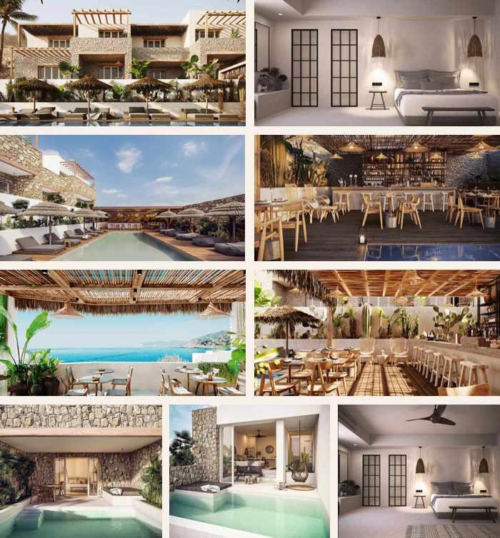 Images of Habitat All Suites Hotel on Mykonos