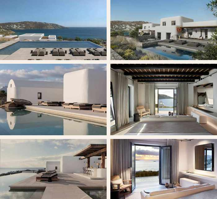 Photos of Kalesma hotel on Mykonos