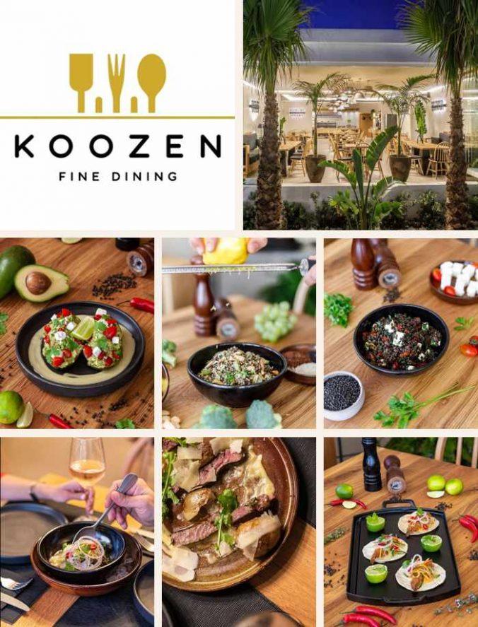 Koozen restaurant on Mykonos