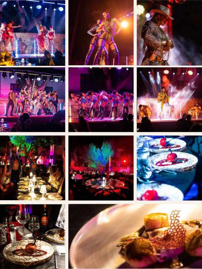 Lio cabaret restaurant and lounge on Mykonos