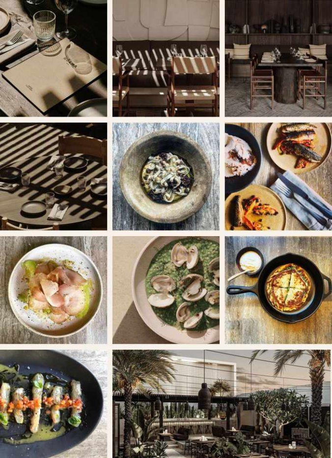 Noema restaurant on Mykonos