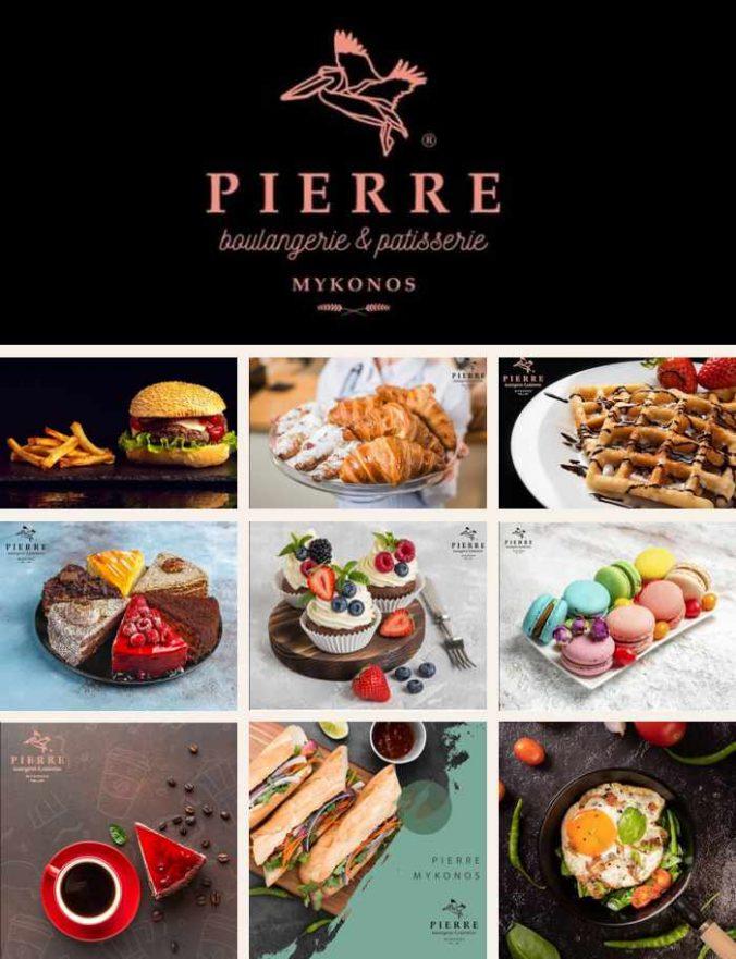 Pierre boulangerie & patisserie on Mykonos