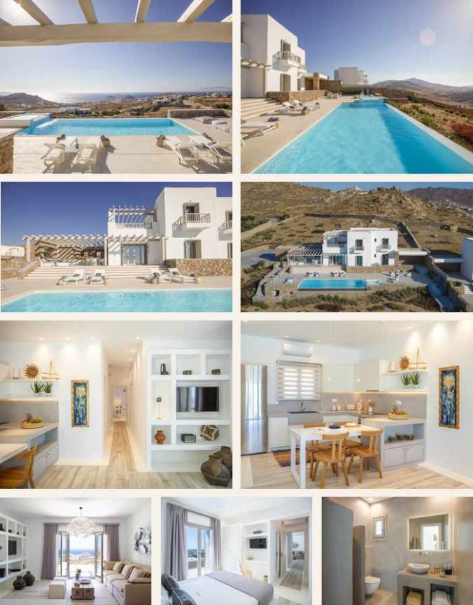 Photos of Soleila Villa on Mykonos