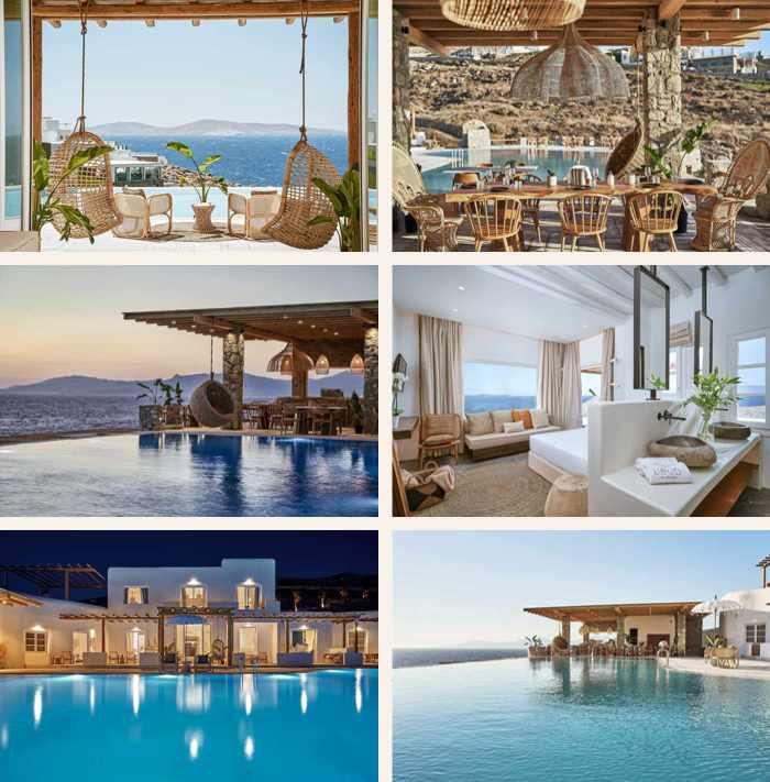 Photos of UBUD luxury hotel on Mykonos