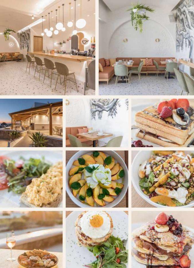 Velanos restaurant on Mykonos