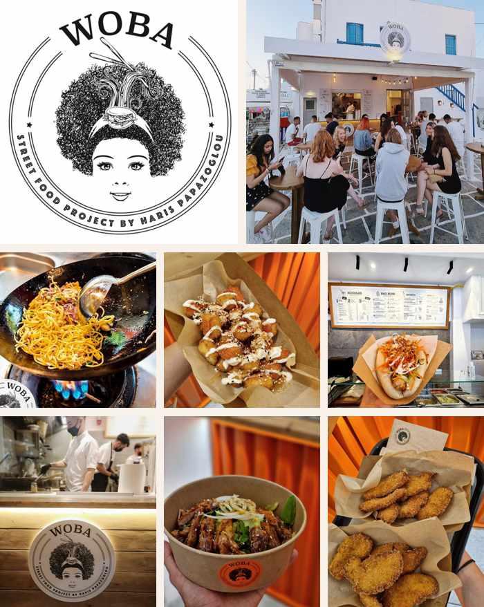 Woba Street Food Project on Mykonos
