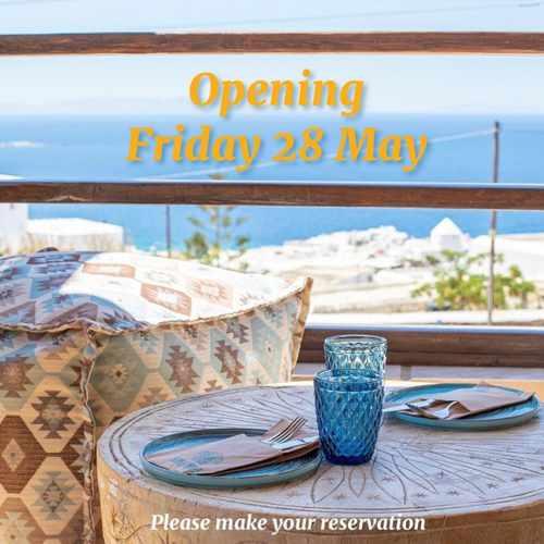 Azul Condesa Mexican restaurant on Mykonos