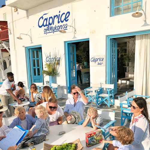 Caprice Bar on Mykonos
