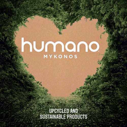 Humano Mykonos upcycled and sustainable products shop