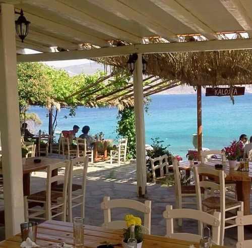 Kalosta restaurant on Mykonos