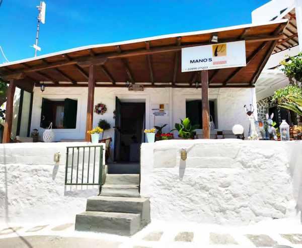 Manos Studios at Platis Gialos beach Mykonos