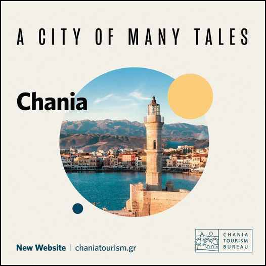 New tourism website for the city of Chania on Crete island in Greece