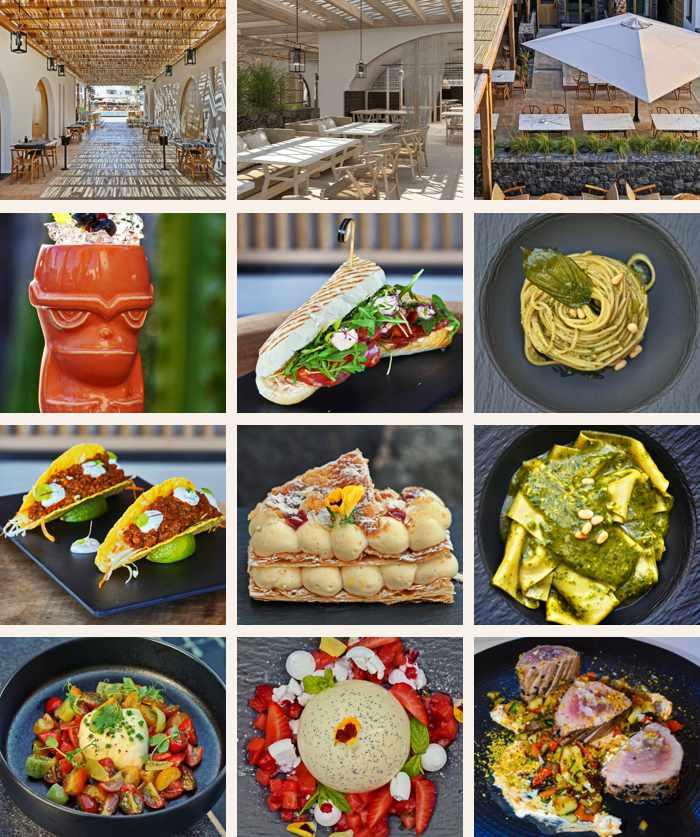 Radisson Zaffron Blu Resort Santorini restaurant and cuisine
