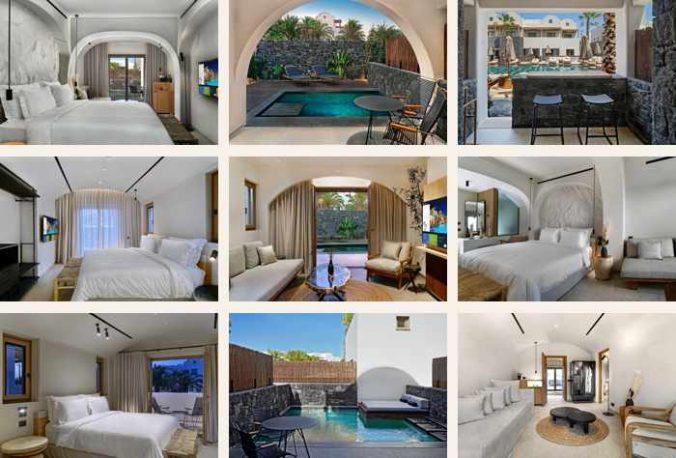Photos of the Radisson Zaffron Blu Resort on Santorini