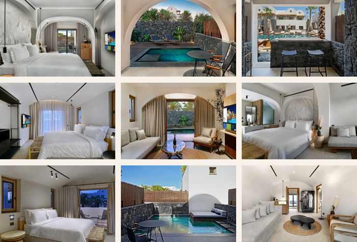 Photos of the Radisson Blu Zaffron Resort on Santorini